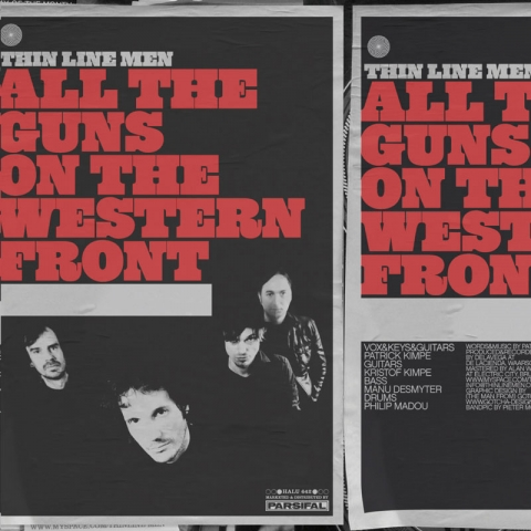 Thin Line Men - All the guns on the western front